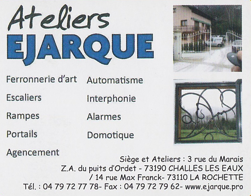 ATELIERS EJARQUE